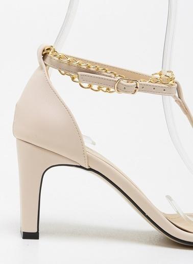 F By Fabrika Kadın Siyah Ayakkabı KLARA Ten